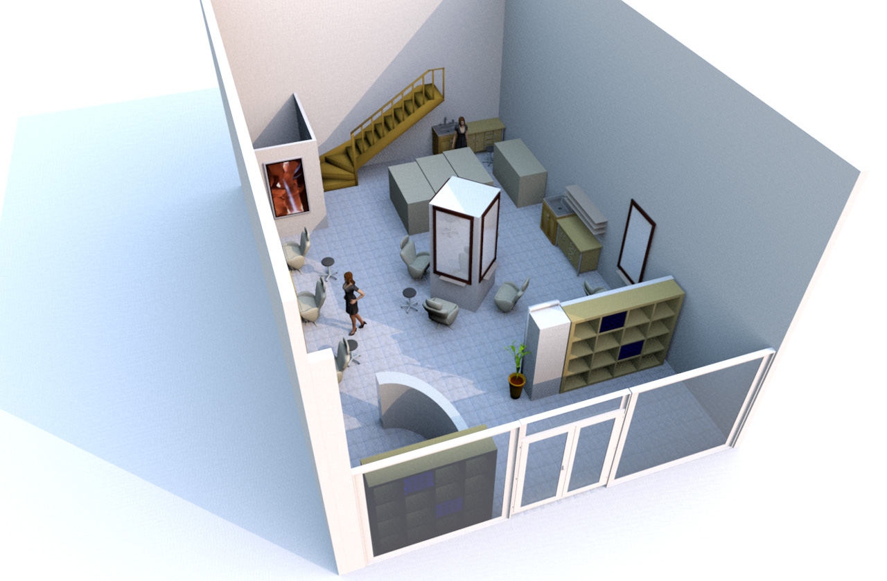 Quelques exemples par th mes ams concept communication globale for Simulation amenagement salon